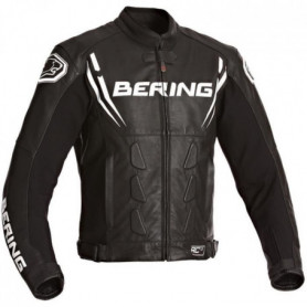 BERING Sting-R Blouson Moto Cuir Noir