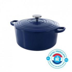 BK Cookware H6074.524 BK Bourgogne Cocotte en Fonte - Ronde - 24 cm