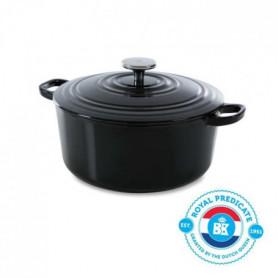 BK Cookware H6071.524 BK Bourgogne Cocotte en Fonte Ronde - 24 cm