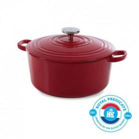 BK Cookware H6072.528 BK Bourgogne Cocotte en Fonte - Ronde - 28 cm