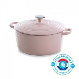 BK Cookware H6078.528 BK Bourgogne Cocotte en Fonte - Ronde - 28 cm