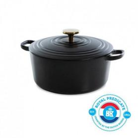 BK Cookware H6079.524 BK Bourgogne Cocotte en Fonte - Ronde - 24 cm