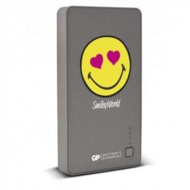 Batterie de secours Noir Smiley 5 200 mAh