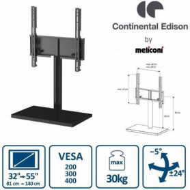 Continental Edison Support TV Pied Central (32'' a 55'')