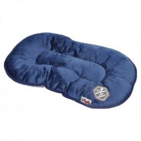 Coussin flocon Patchy - 61 cm - Bleu et gris - Pour chien