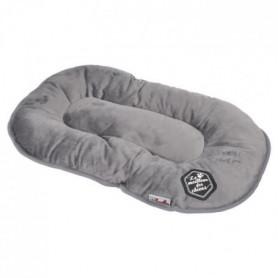 Coussin flocon Patchy - 69 cm - Gris et noir - Pour chien