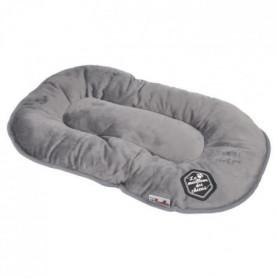 Coussin flocon Patchy - 87 cm - Gris et noir - Pour chien