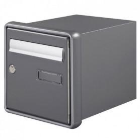 DECAYEUX Boîte aux lettres Channel Passemur simple face gris quartz
