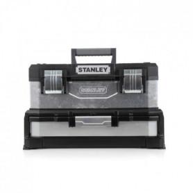 STANLEY Boite a outils a tiroir galvanisée 51cm