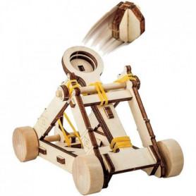 NATIONAL GEOGRAPHIC - Les inventions De Vinci - catapulte