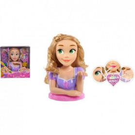 Disney Princesses - Tete a Coiffer Deluxe - Raiponce