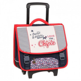 CHIPIE Cartable a Roulette - 1 Compartiment - 41 cm