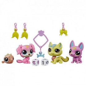 LITTLEST PET SHOP, Lucky Pets, Escouade chanceuse - Figurines