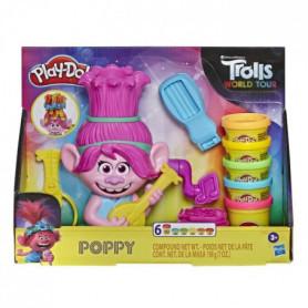 Play-Doh – Pate A Modeler – Poppy, cheveux arc-en-ciel