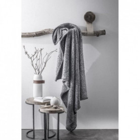 TODAY Plaid 100% Polyester FURLY Au Coin du Feu 125x150cm - Gris