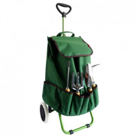 Chariot de jardin MUNDUS + 4 outils