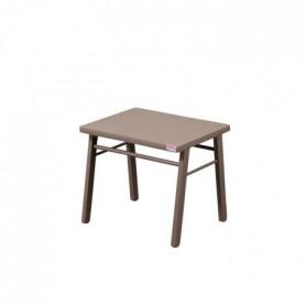 COMBELLE Table enfant  laque taupe