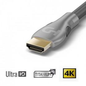 HDELITE Cble HDMI 2.0 Ultra HD 4K / 3D 3m