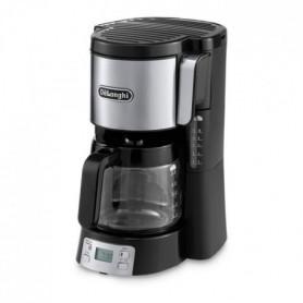 DELONGHI ICM15250 Cafetiere filtre - Noir Inox