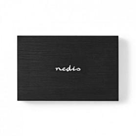 NEDIS Boîtier pour Disque dur - 2,5 - USB 3.1 - 6 Gbit/s - Noir