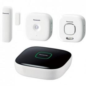 PANASONIC Pack Sécurité Plus KX-HN6011FRW - Comprenant Hub