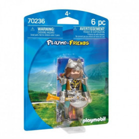 PLAYMOBIL 70236 - Knights - Playmobil Friends - Guerrier du Loup