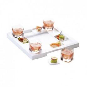 Grand Plateau Cube Set Champagne Jacquart