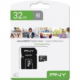 PNY Carte mémoire MicroSD 32Go Performance Plus C10