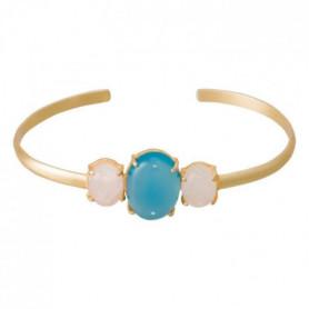 Bracelet Gladys Amazonite et Opal blanche