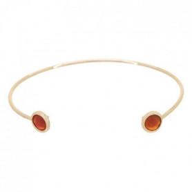 Bracelet Aya Camelia rouge