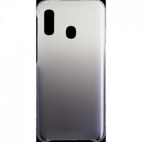 Coque arriere Evolution Galaxy A20e Noir