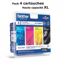 Brother LC1100HY Cartouches d'encre Multipack
