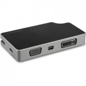 StarTech.com Adaptateur multiport AV numérique USB-C - VGA / DVI