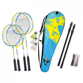 TALBOT TORRO Set de Badminton Family - 4 raquettes de 2 tailles