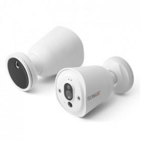 TECHNAXX Caméra de surveillance IP connectée sans fil HD TX-55
