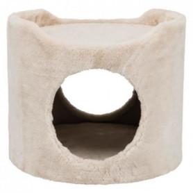 Tower peluche - ø 34 × 30 cm - Beige - Pour lapins et petits rongeurs