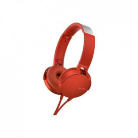 SONY - Casque EXTRA BASS? XB550AP - Rouge