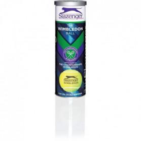 SLAZENGER - Balles de Tennis Wimbledon - Tube de 3 Balles