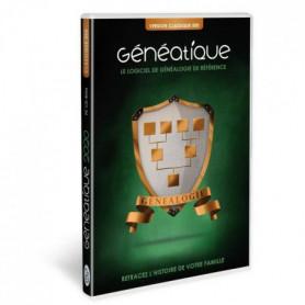 GENEATIQUE 2020 CLASSIQUE Logiciel de généalogie pour PC