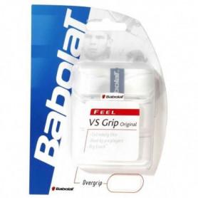 BABOLAT Grips de tennis Vs Original x3 - Blanc