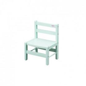 COMBELLE Chaise basse laque vert mint