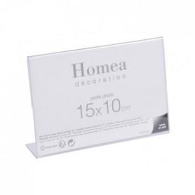 Porte-photo à poser Homea 15x10 cm transparent