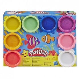 Play-Doh – 8 pots de Pate A Modeler - Couleurs Arc-En-Ciel