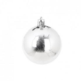 AUTOUR DE MINUIT Set de 6 boules brillantes - Ø6 cm