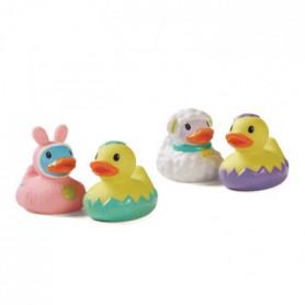 INFANTINO Canards de bain sensoriels - Lot de 4