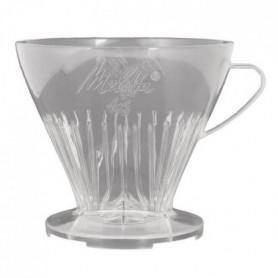 MELITTA Porte-filtre à café 1x6 - Transparent