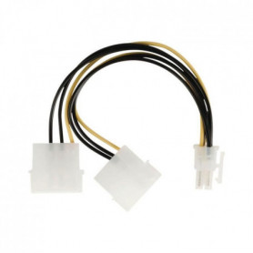NEDIS Internal Power Cable - 2x Molex Male - PCI Express Female