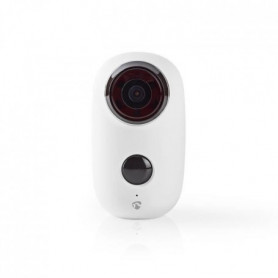 NEDIS Caméra IP rechargeable - Extérieur - 6000 mAh