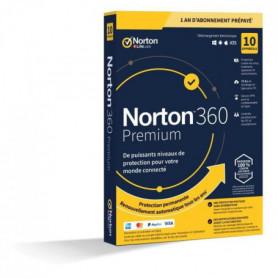 NORTON 360 Premium 75 Go FR 1 Utilisateur 10 Appareils
