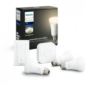 PHILIPS HUE Kit de démarrage White 3 ampoules